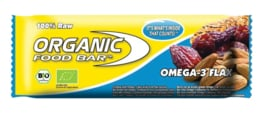 Organic Food Bar Omega 3 Flax