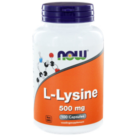 NOW L-Lysine 500 mg 100 vcaps