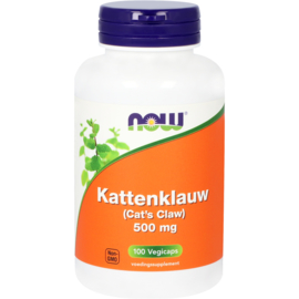 Now Kattenklauw 500 mg 100 vcaps