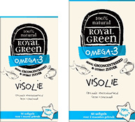 Frenchtop Royal Green Omega 3 Visolie