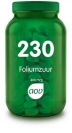 AOV 230 Foliumzuur (400 mcg) 100 Tabletten