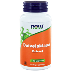 Now Duivelsklauw Extract 100 vcaps