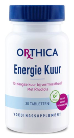 Orthica Energie Kuur 30 Tabletten