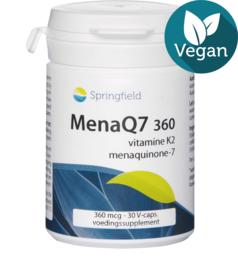 Springfield MenaQ7 360 vitamine K2 30 vcaps