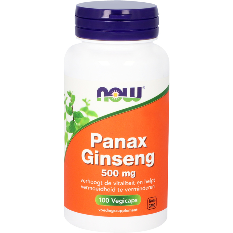 NOW Panax Ginseng 500 mg 100 vcaps