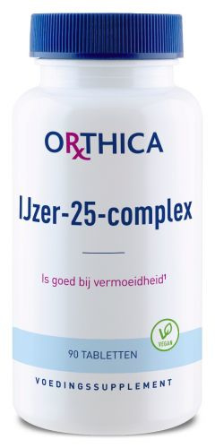 Orthica IJzer-25-complex 90 Tabletten