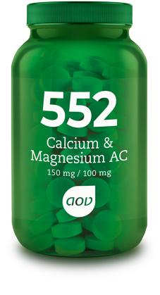 AOV 552 Calcium & Magnesium AC (150 mg / 100 mg) 60 Tabletten