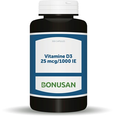 Bonusan Vitamine D3 25 mcg 1000 IE (0924/0789) 90/300 softgels