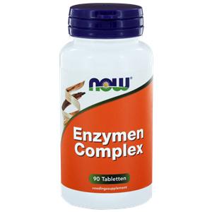 NOW Enzymen Complex 90/180 Tabletten
