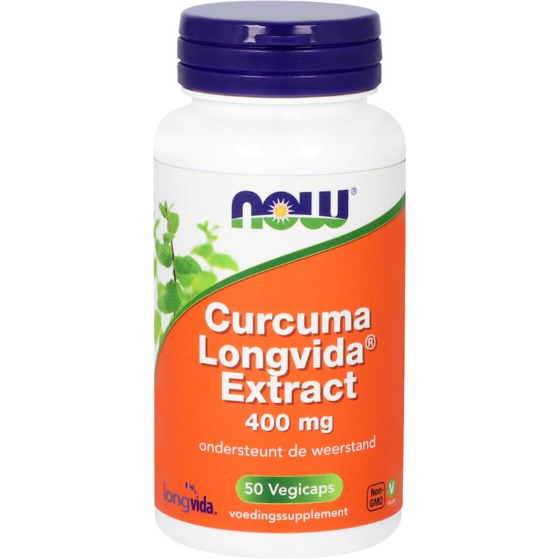 Now Curcuma Longvida® Extract 50 vcaps