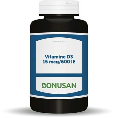 bonusan Vitamine D3 15 mcg 600 IE