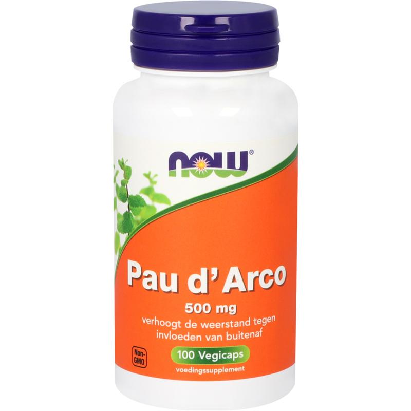 NOW Pau d'Arco 500 mg 100 vcaps