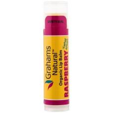 Grahams Organic Lip Balm Raspberry