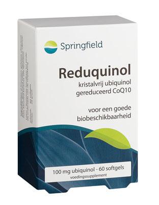 Springfield Reduquinol kristalvrij co-enzyme Q10 30/60/150 Softgels