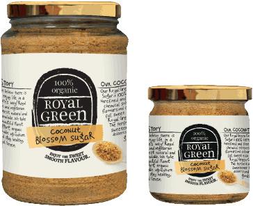 Frenchtop Royal Green Kokosbloesem suiker