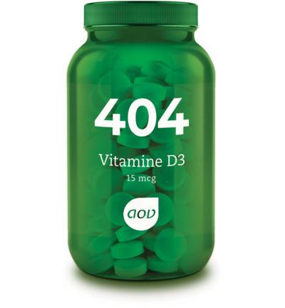 AOV 404 Vitamine D3 (15 mcg) 60 Tabletten