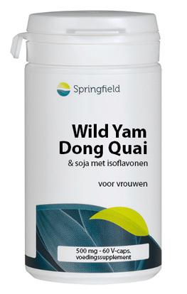 Springfield Wild Yam - Dong Quai Menstruatie
