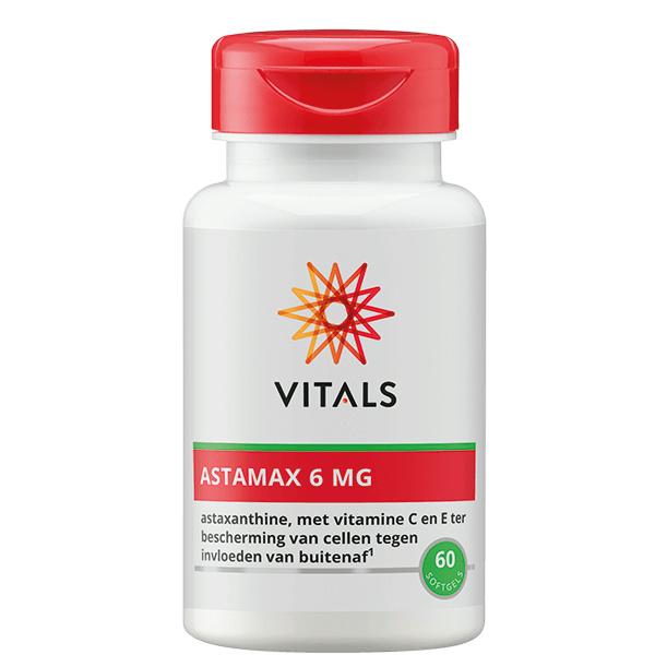 Vitals ASTAMAX 6 MG 60/120 SOFTGELS