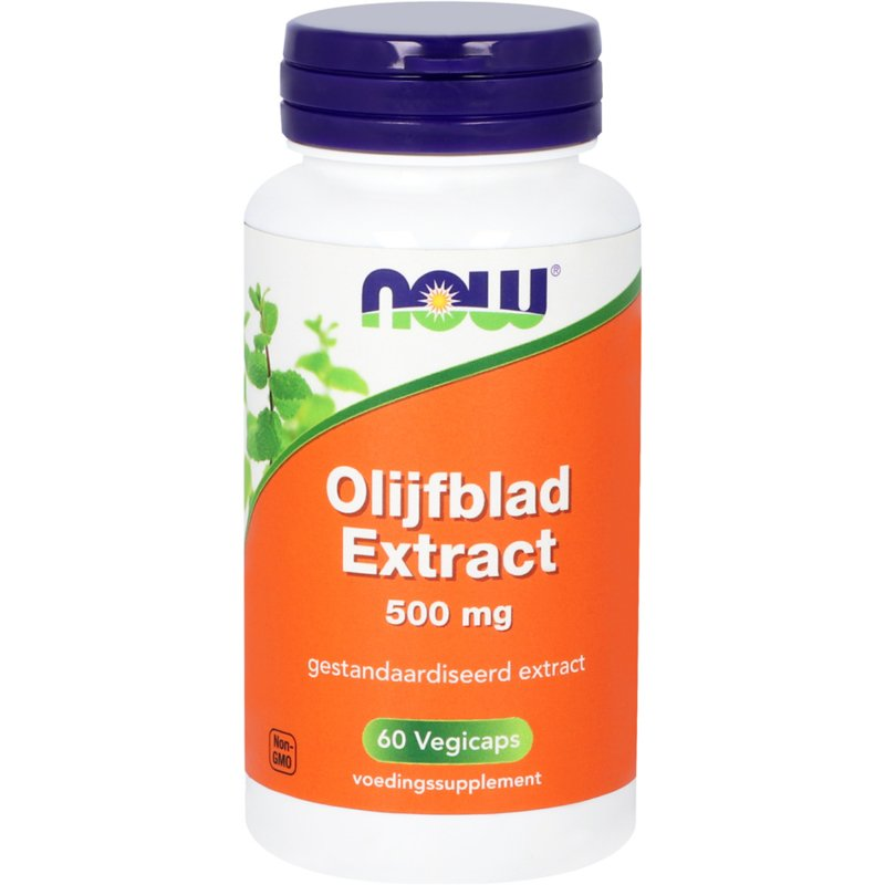 NOW Olijfblad Extract 500 mg 60 vcaps