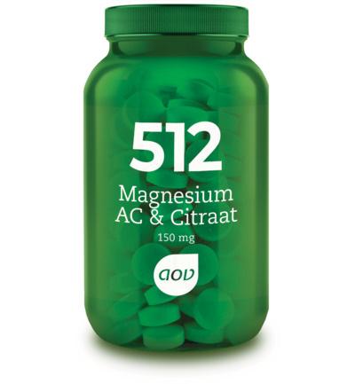 AOV 512 Magnesium AC & Citraat (150 mg) 60 Tabletten