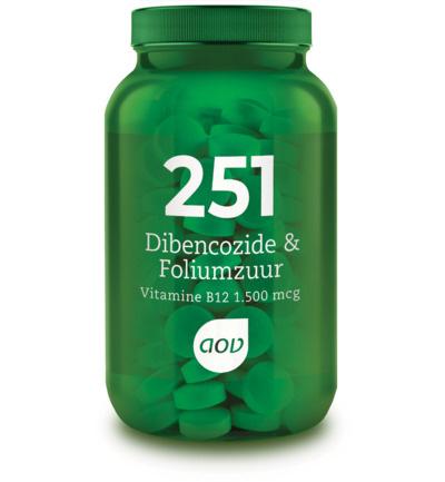 AOV 251 Dibencozide & Foliumzuur (1.500 mcg) 60 Zuigtabletten