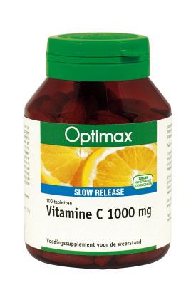 Optimax Vitamine C 1000mg Slow Release