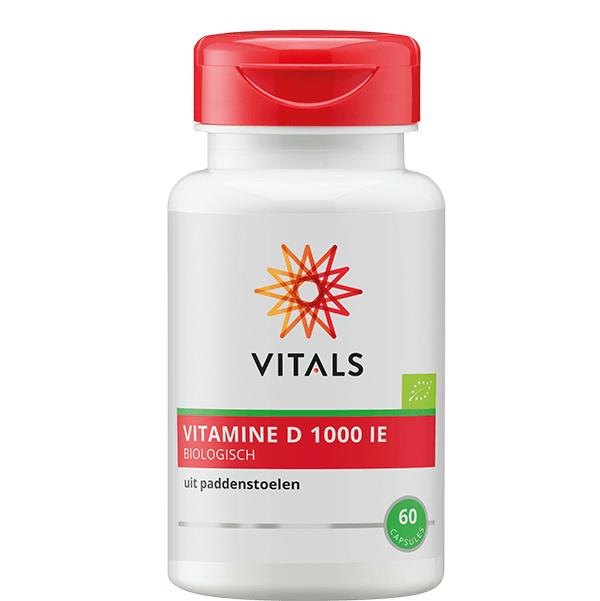 Vitals VITAMINE D BIOLOGISCH 60 CAPSULES