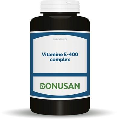 Bonusan Vitamine E 400 complex (0895/0881) 60/200 stuks