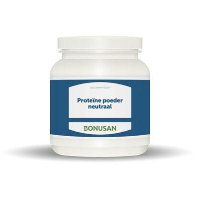 Bonusan Proteïnepoeder neutraal proteine plus  500 gram (0687)