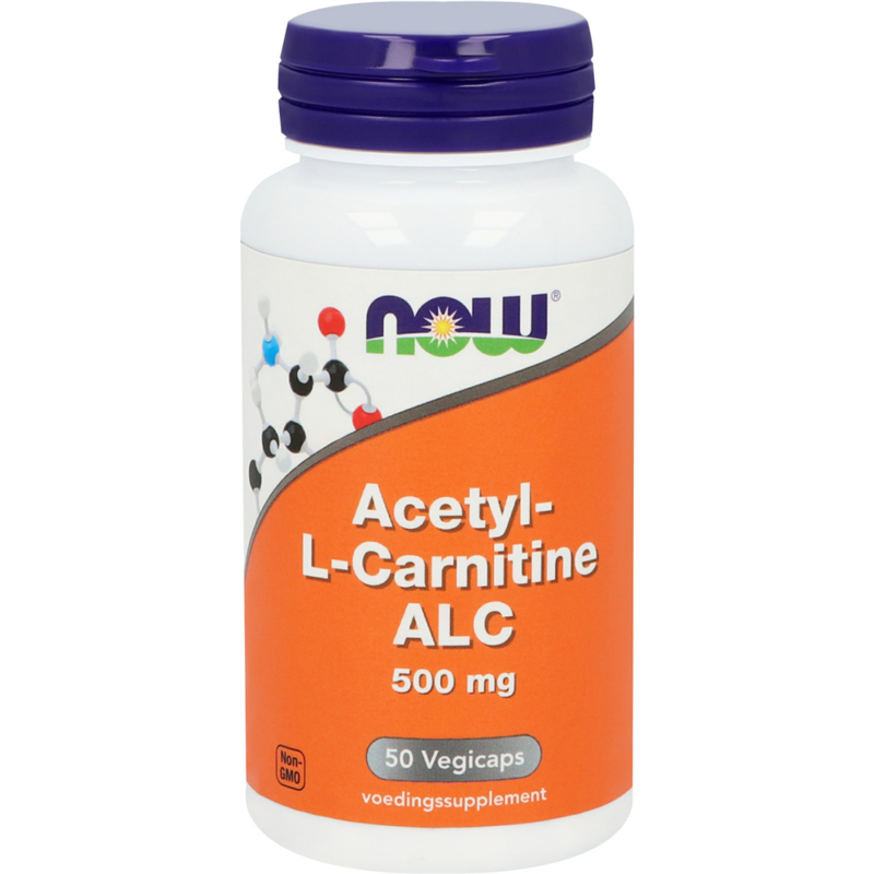 NOW  Acetyl-L-Carnitine 500 mg 50 vcaps