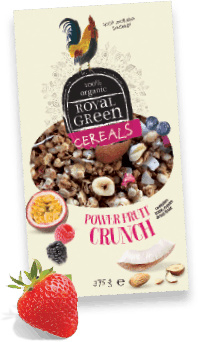 Frenchtop Royal Green Cereals Power Fruit Crunch