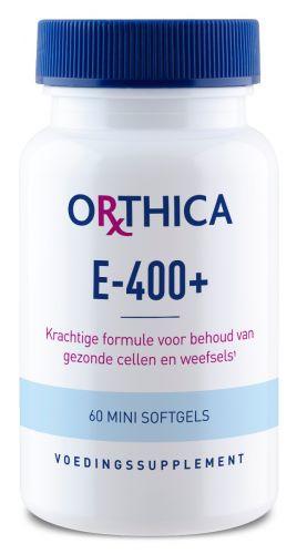 Orthica Vitamine E 400 plus 60 softgels