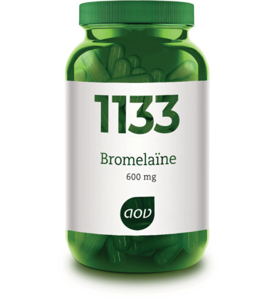 AOV 1133 Bromelaine 30 vcaps
