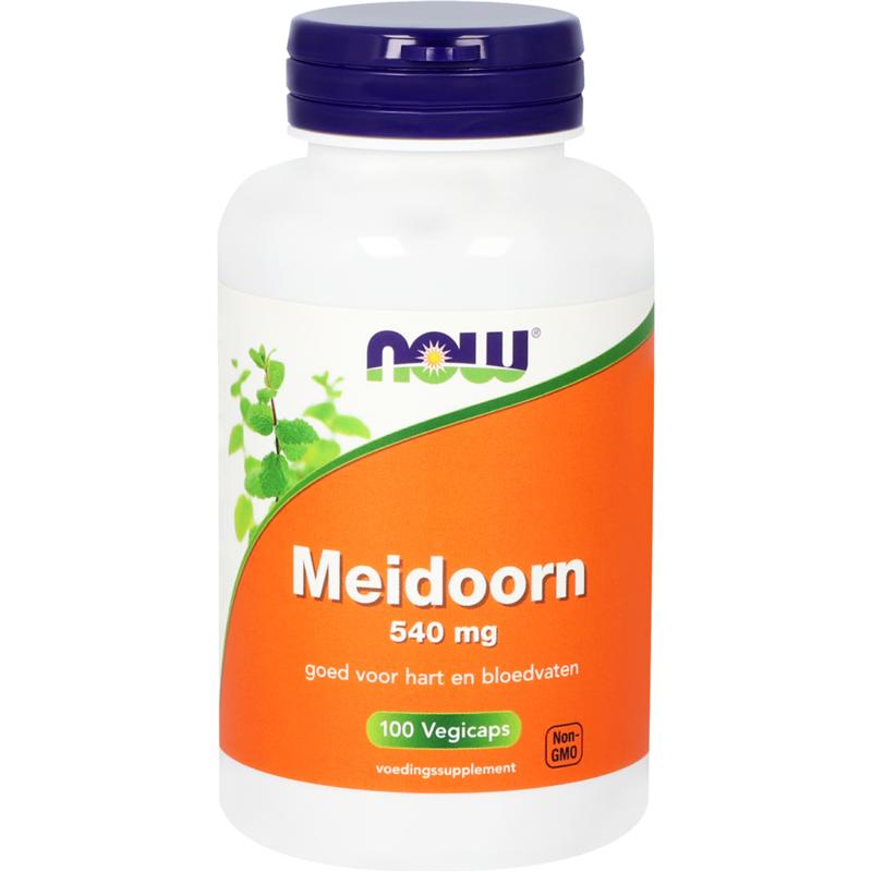 NOW Meidoorn 540 mg 100 vcpas