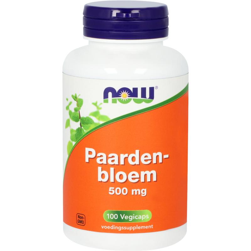 Now Paardenbloem 500 mg 100 vcaps