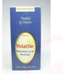 Volatile Massage olie Neutraal