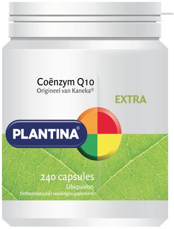 Plantina Coënzym Q10 - 50mg 240 capsules