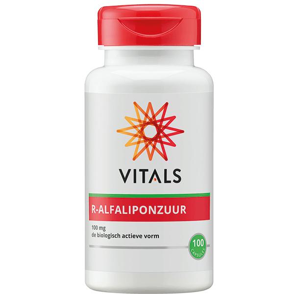Vitals R-ALFALIPONZUUR 100 CAPSULES