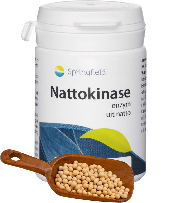 Springfield Nattokinase uit natto 90 softgels