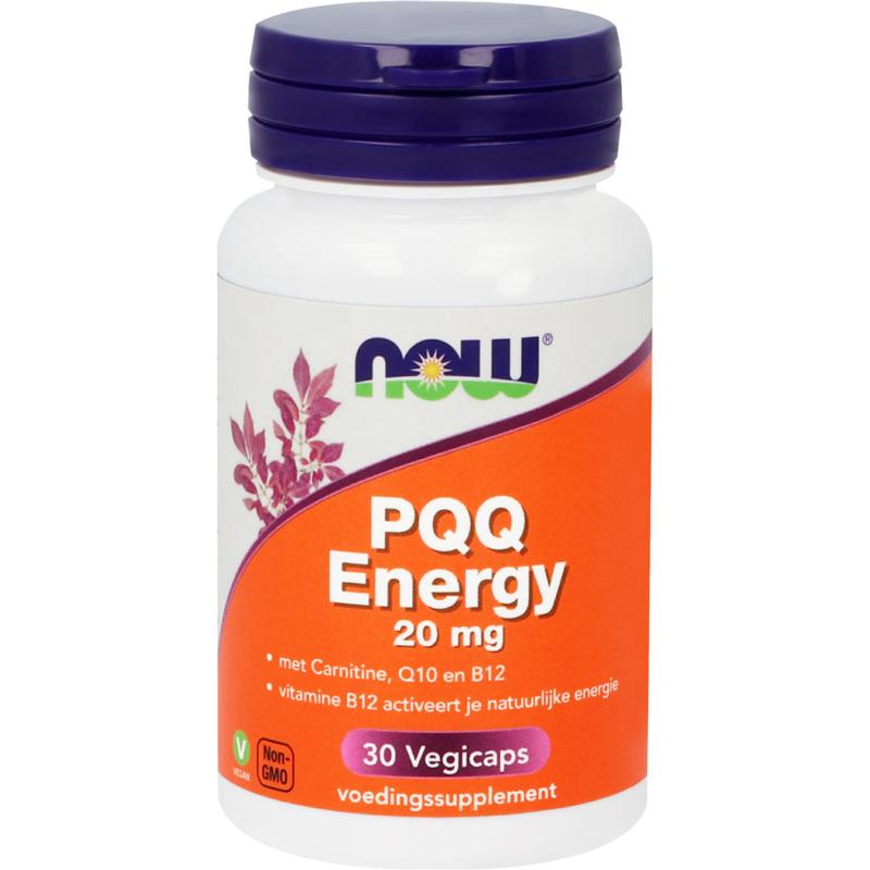 NOW PQQ Energy 20 mg 30 vcaps