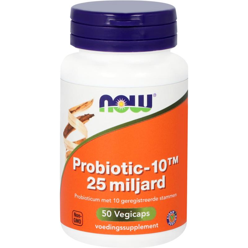 NOW Probiotic-10™ 25 miljard 50 vcaps