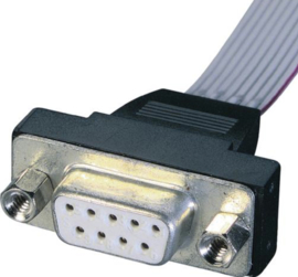 D connectors voor Bandkabel