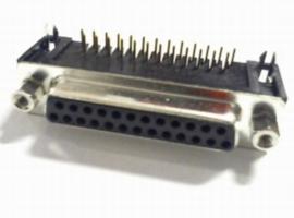 Sub D Connectoren PCB recht/haaks