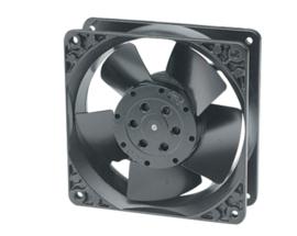 Axiaal ventilator met kogellagers