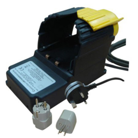 Les-250 Charger and return unit for explosion proof handlamp