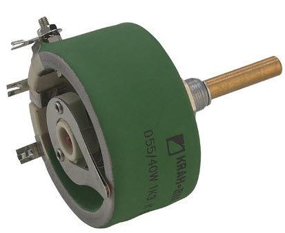 Draadgewonden vermogens potentiometers