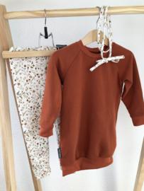Sweaterdress Roestbruin