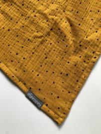 Hydrofiele doek 60x60 cm Geel stip