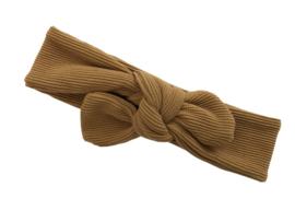 Haarband Rib camel