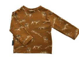Shirt Luipaard oker